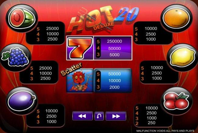 Hot 20 Deluxe screenshot