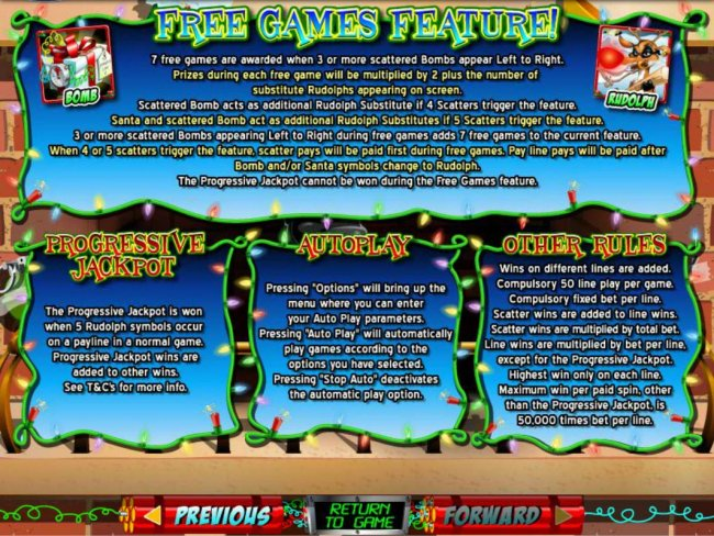 Free Games, Progressive Jackpots and General Game Rules. - Free Slots 247