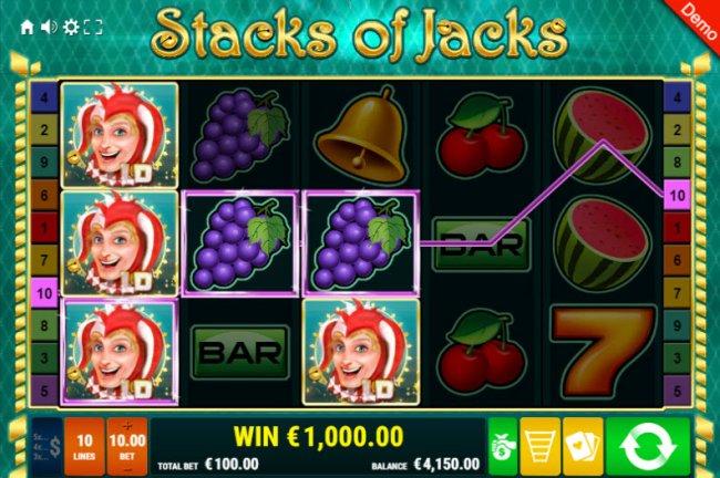 Stacks of Jacks screenshot