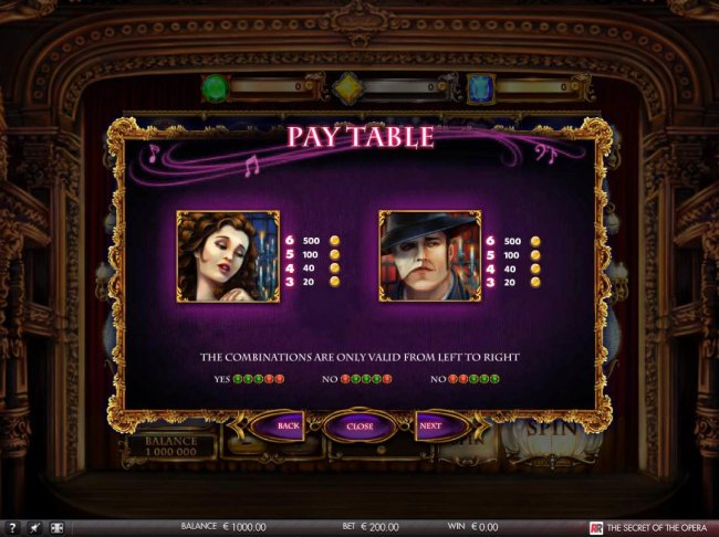 Free Slots 247 - High value slot game symbols paytable