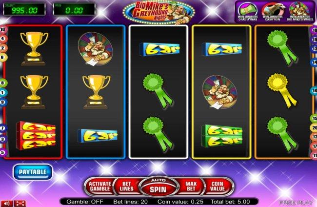 Big Mike's Greyhound Nights by Free Slots 247