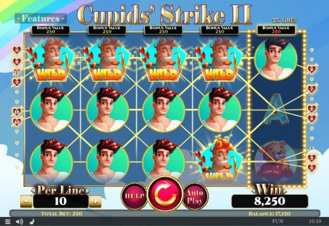 Cupids' Strike II by Free Slots 247