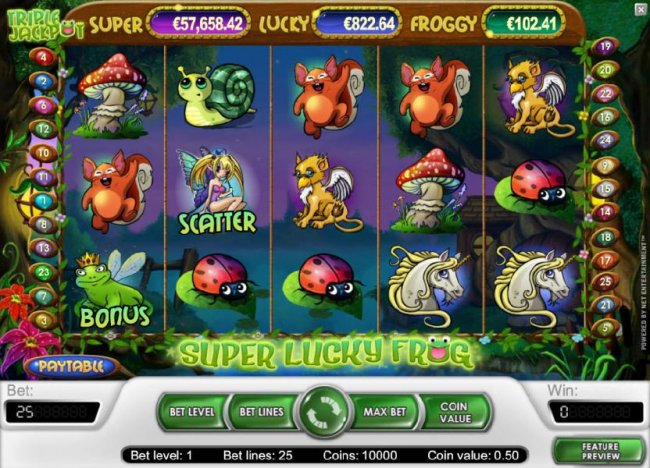 Images of Super Lucky Frog