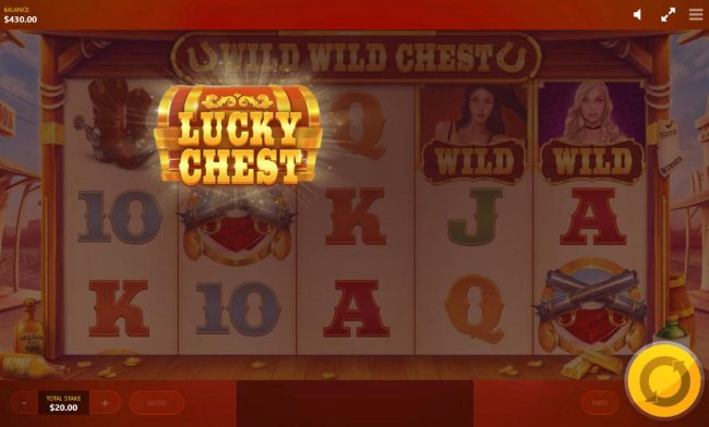 Free Slots 247 - Lucky Chest feature triggered