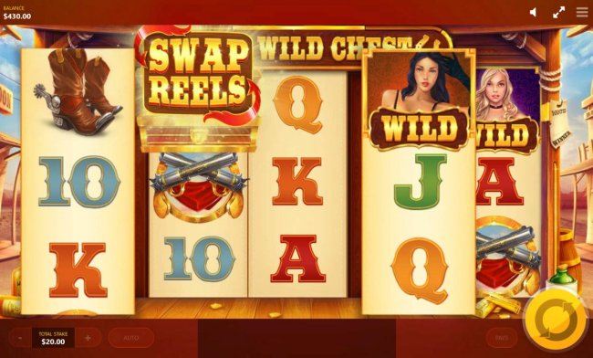 Swap Reels feature activated by Free Slots 247