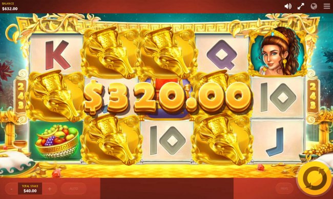 Free Slots 247 - Midas Touch feature leads to a 320 credit payout