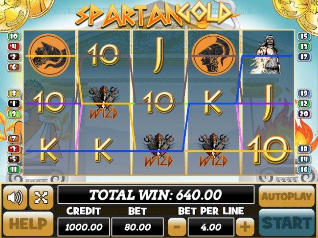 Spartan Gold screenshot