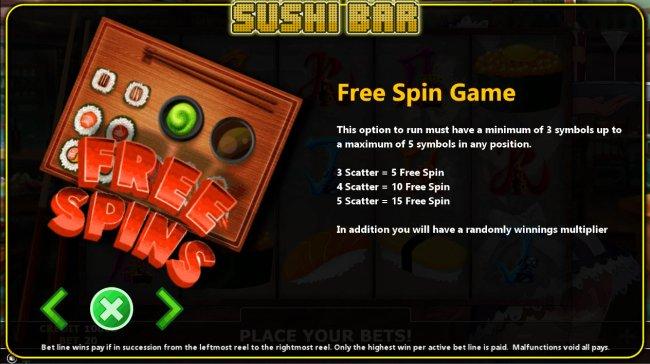 Sushi Bar by Free Slots 247