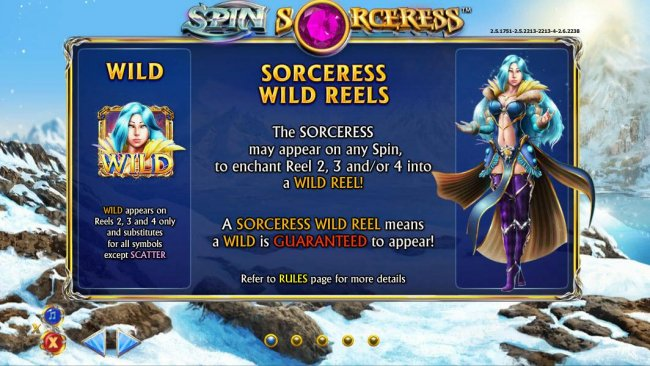 Images of Spin Sorceress