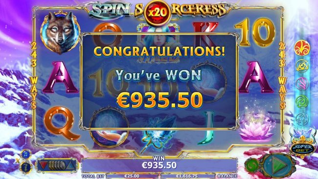 Free Slots 247 image of Spin Sorceress