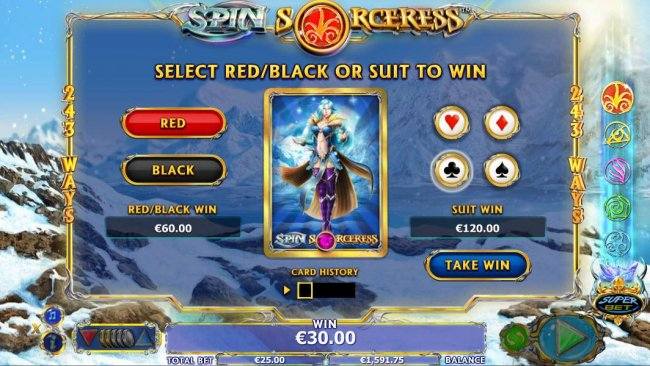Spin Sorceress by Free Slots 247