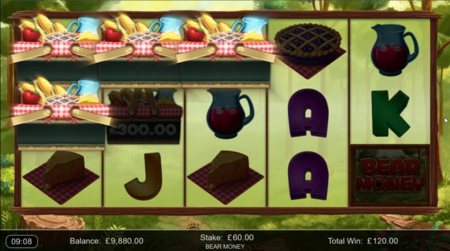 A three of a kind win by Free Slots 247