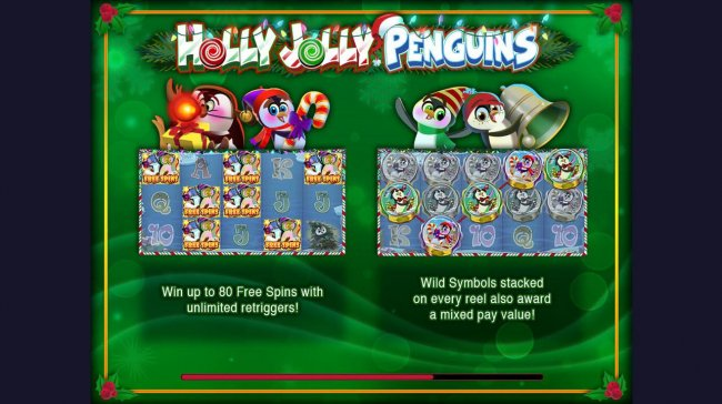 Free Slots 247 image of Holly Jolly Penguins