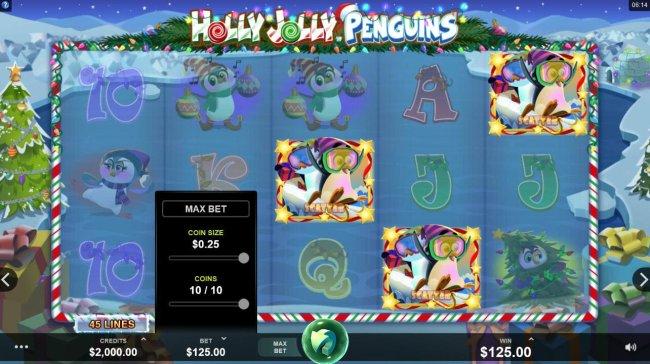 Holly Jolly Penguins screenshot