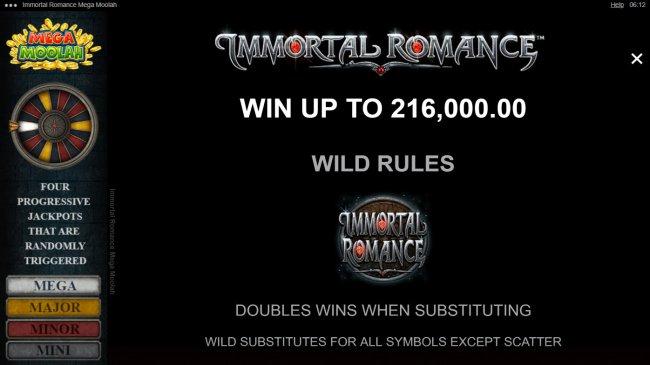 Immortal Romance Mega Moolah by Free Slots 247