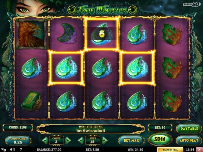 Free Slots 247 image of Jade Magician