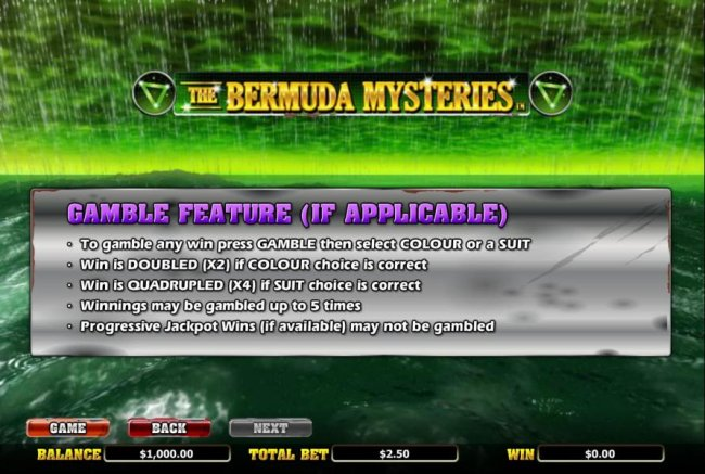 Free Slots 247 image of The Bermuda Mysteries
