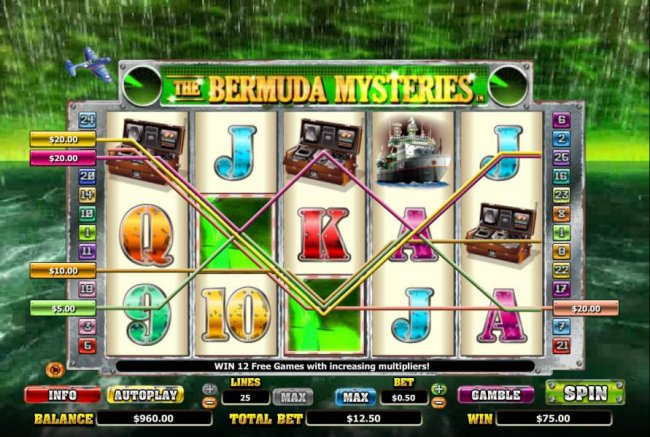 The Bermuda Mysteries by Free Slots 247