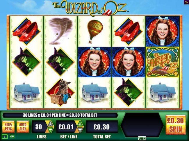 The Wizard of Oz by Free Slots 247