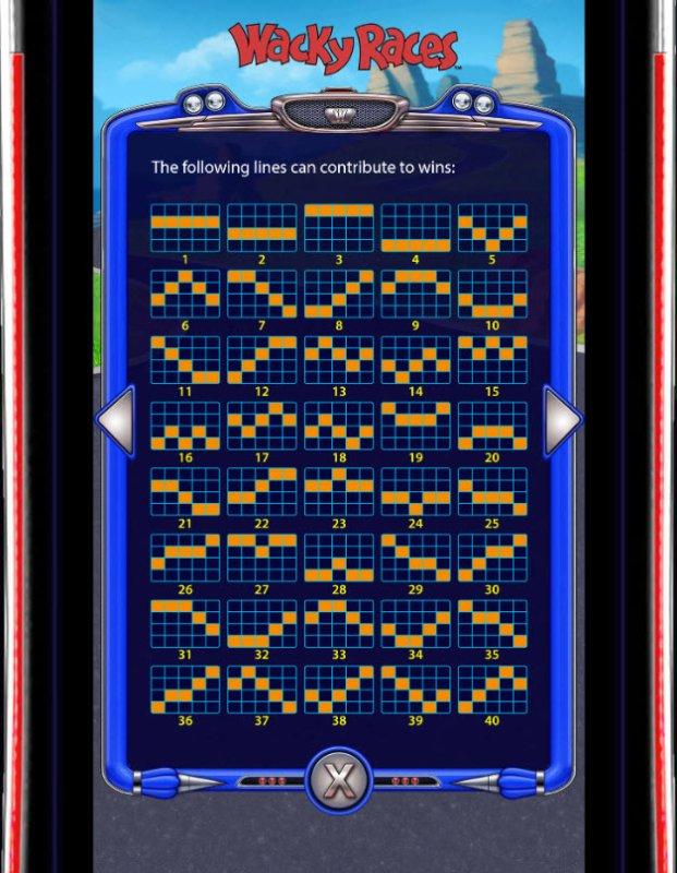 Wacky Races by Free Slots 247