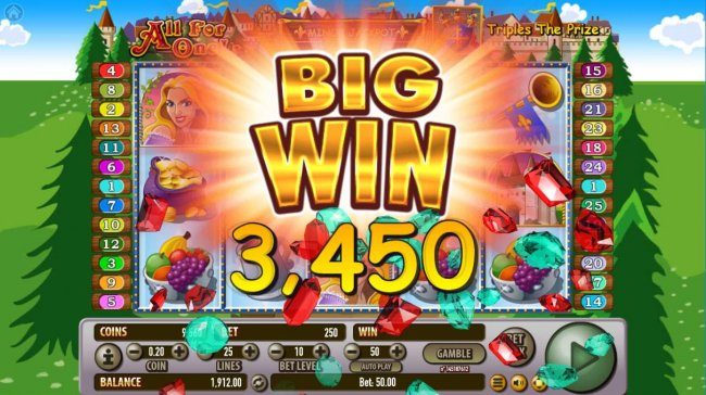 A 3450 coin big win - Free Slots 247