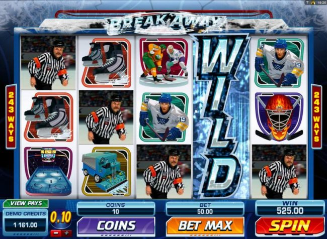 Smashing Wild Feature triggers a Five of a Kind and a 525.00 line pay. by Free Slots 247