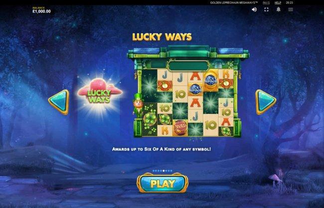 Golden Leprechaun Megaways screenshot