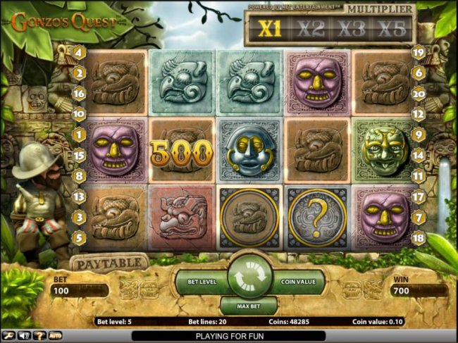 Free Slots 247 image of Gonzo's Quest