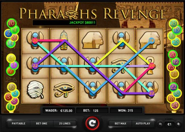 Free Slots 247 image of Pharaoh's Revenge