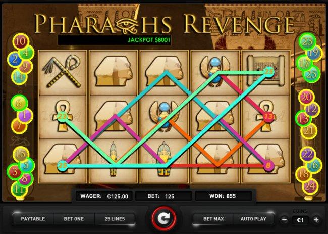 Pharaoh's Revenge screenshot