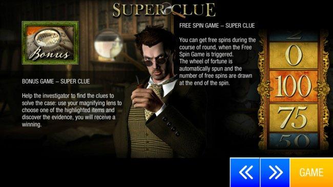Super Clue screenshot