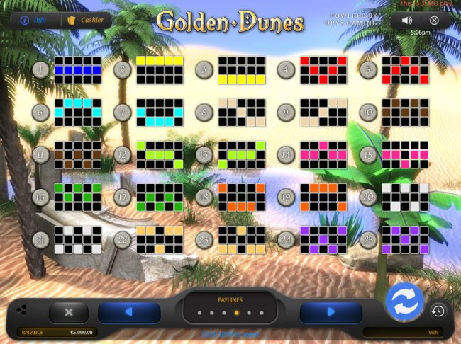 Golden Dunes by Free Slots 247