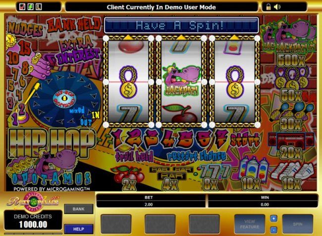 main game board featuring 3 reels and 1 payline - Free Slots 247