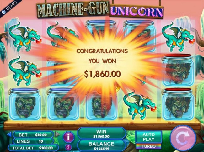 Machine Gun Unicorn by Free Slots 247