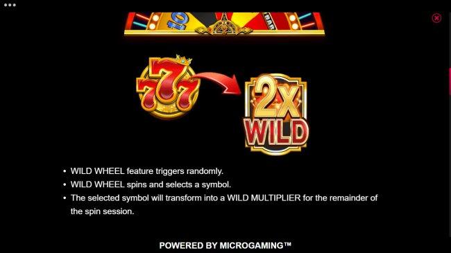 Wild Wheel Feature - Free Slots 247