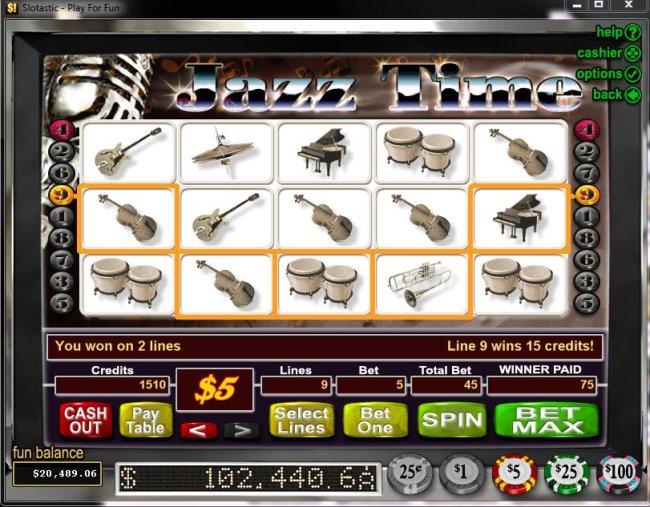 Free Slots 247 image of Jazz Time