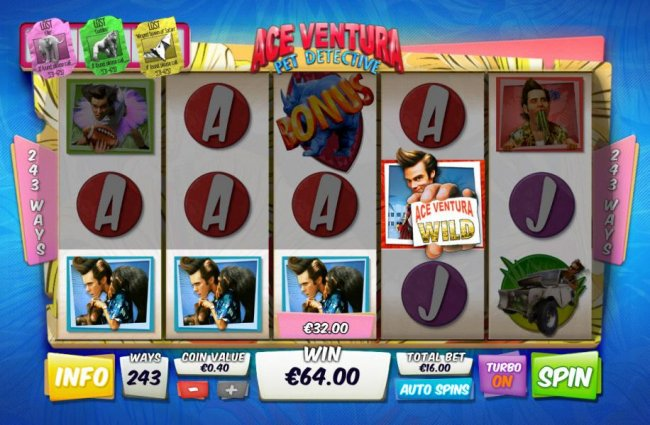 Ace Ventura Pet Detective by Free Slots 247