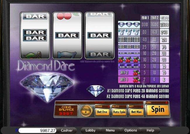 Free Slots 247 image of Diamond Dare
