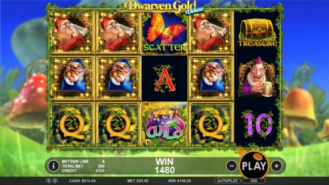 Free Slots 247 image of Dwarven Gold Deluxe