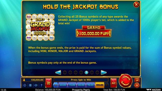Free Slots 247 image of Prosperity Pearls