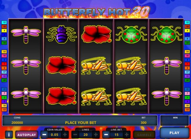 Classic Butterfly Hot 20 screenshot