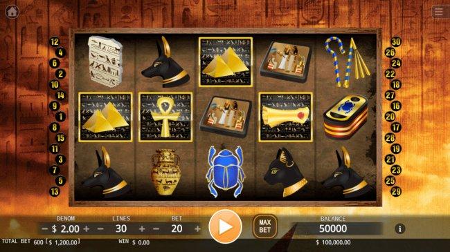 Mysterious Pyramid screenshot