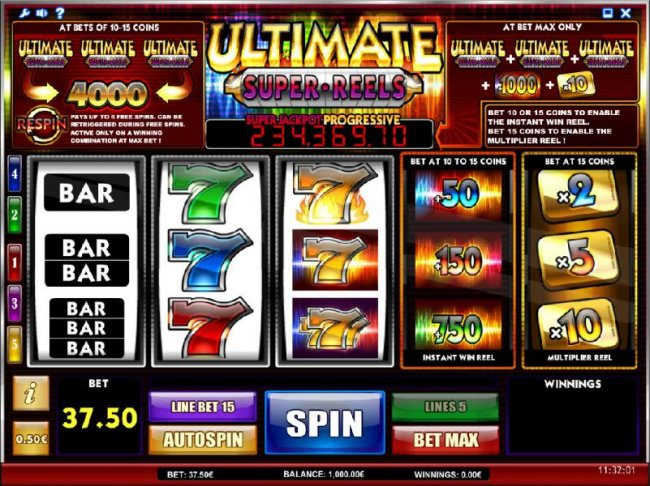 Ultimate Super Reels by Free Slots 247