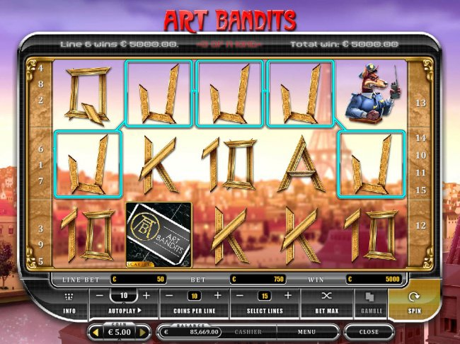 Spiele Art Bandits - Video Slots Online
