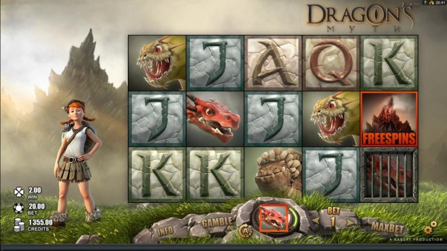 Another dragon is caught. - Free Slots 247