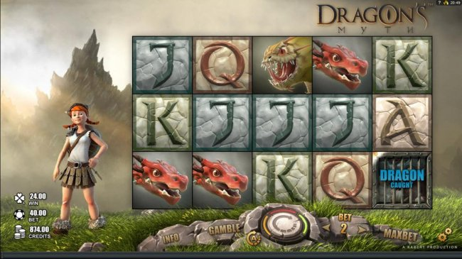 Images of Dragon's Myth