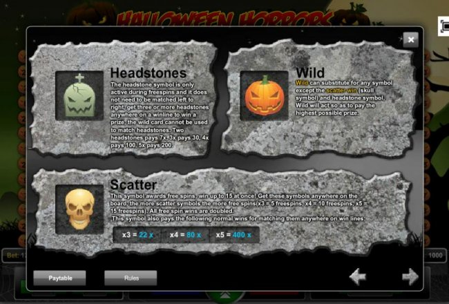 Free Slots 247 image of Halloween Horrors