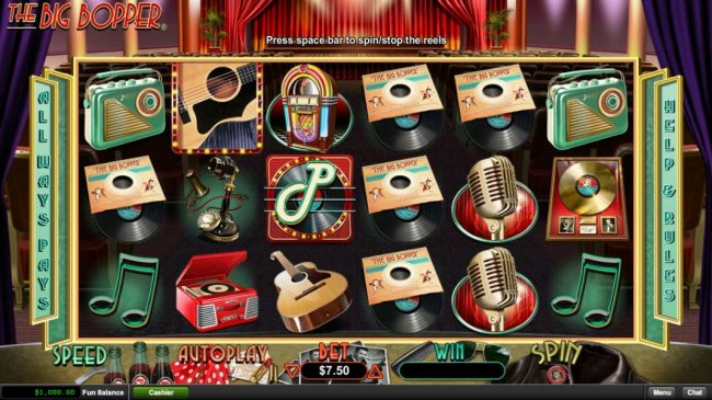 Free Slots 247 image of The Big Bopper