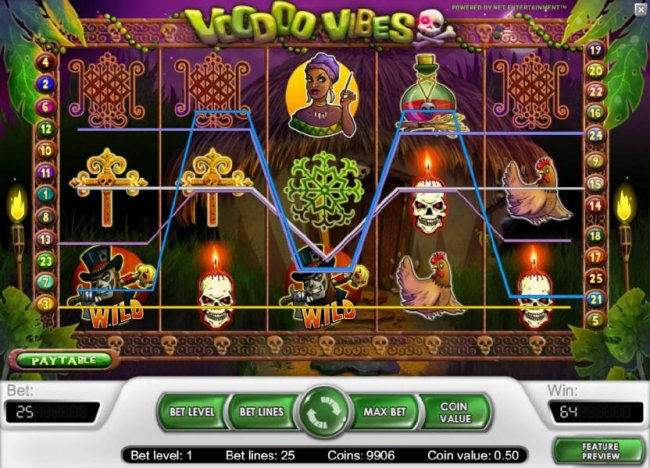 Free Slots 247 image of Voodoo Vibes