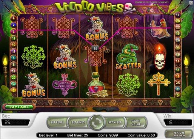 Voodoo Vibes by Free Slots 247